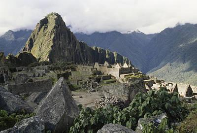 Machu Picchu Peak And Surrounding Poster
