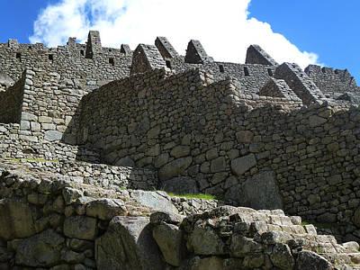 Machu Picchu Peru 12 Poster by Xueling Zou