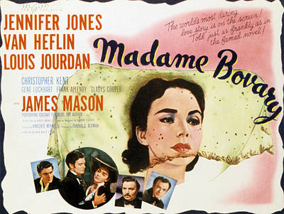 Madame Bovary, Jennifer Jones, James Poster by Everett