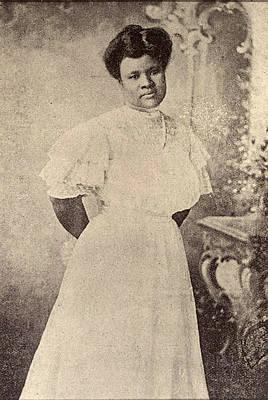Madame C. J. Walker. Ca 1890s Poster by Everett