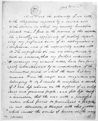 Madison: Inaugural, 1813 Poster