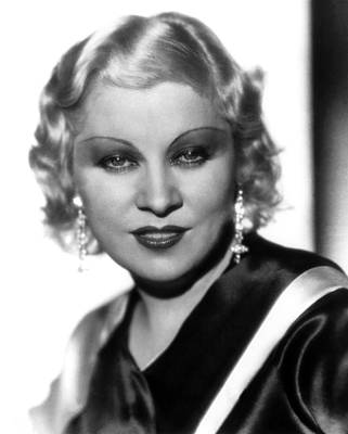 Mae West, Paramount Pictures, Ca. Early Poster by Everett