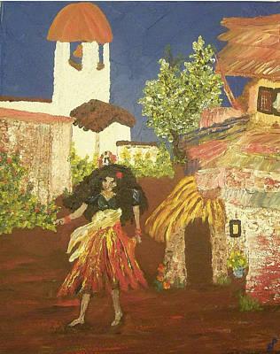 Magdalena Mujar De Los Gitanas Poster by Peri Craig