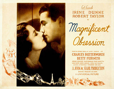 Magnificent Obsession, Irene Dunne Poster