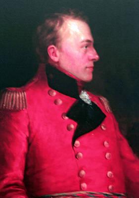 Major General Sir Iasaak Brock Poster