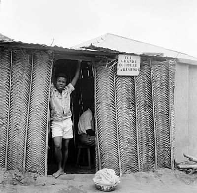 Mali Barbershop Poster by Evans