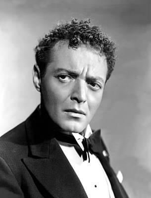 Maltese Falcon, Peter Lorre, 1941 Poster