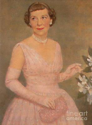Mamie Eisenhower Poster