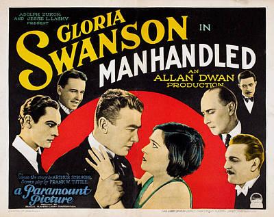 Manhandled, Gloria Swanson, 1924 Poster