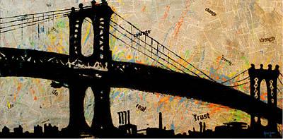 Manhattan Bound  Poster by Anthony Jensen