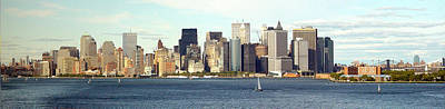 Manhattan Skyline Panarama Poster