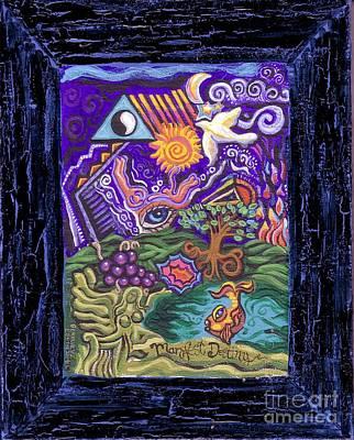 Manifest Destiny Poster by Genevieve Esson