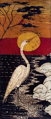 Mano's Egret Poster by Alexandra  Sanders