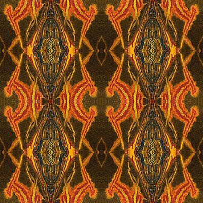 Mara Mumba Tiger Iron Reflection Poster by  Onyonet  Photo Studios
