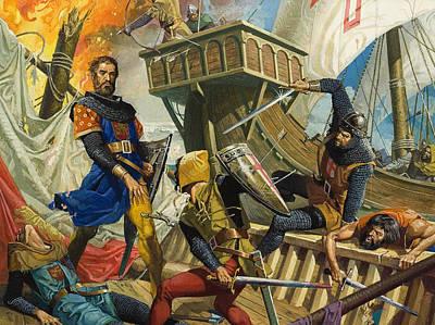 Marco Polo Poster by Severino Baraldi
