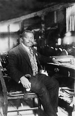Marcus Garvey 1887-1940, Founded Poster by Everett