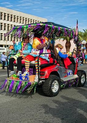 Mardi Gras Clowning Poster