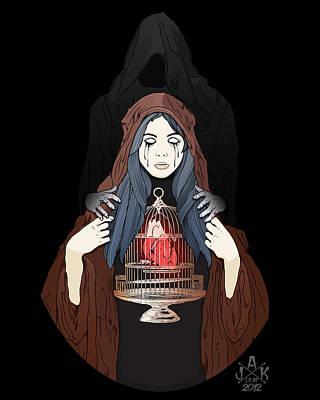 Maria De La Oscuridad Poster by Josh Katz