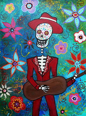 Mariachi Day Of The Dead Poster