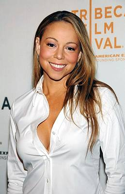 Mariah Carey At Arrivals For Tennessee Poster by Everett