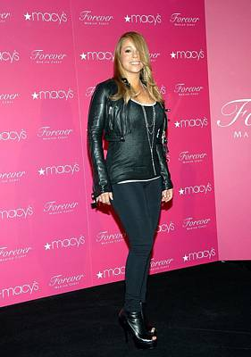 Mariah Carey In Attendance For Launch Poster by Everett