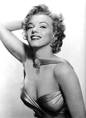 Marilyn Monroe, Circa 1950s Poster by Everett