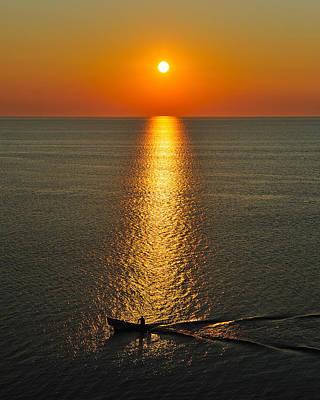 Maritime Sunrise Poster