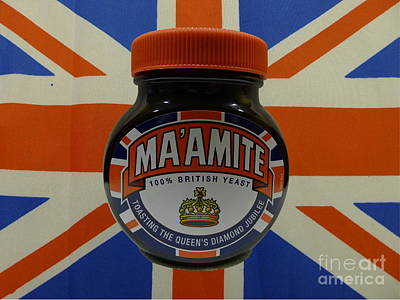 Marmite The Growing Up Spread Poster by Richard Reeve