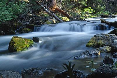 Maroon Creek During Spring Runoff Poster by Robbie George