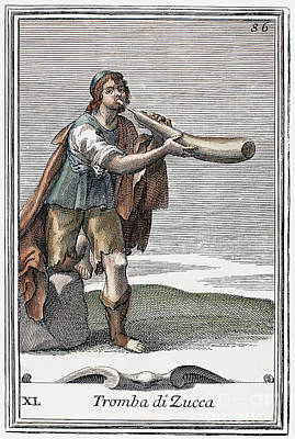 Marrow Trumpet, 1723 Poster