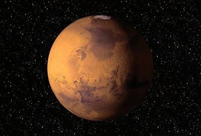 Mars, Artwork Poster