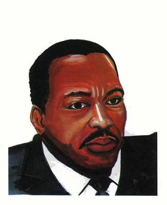 Martin Luther King Jr Poster by Emmanuel Baliyanga