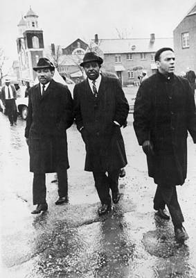 Martin Luther King, Jr. With Ralph Poster by Everett