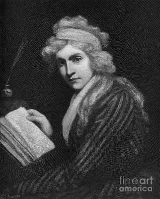 Mary Godwin (1759-1797) Poster by Granger