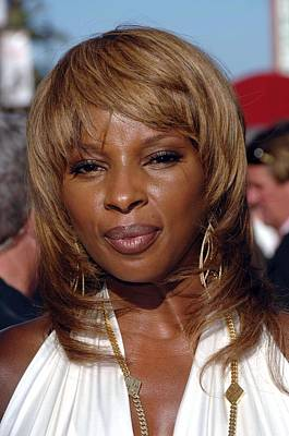 Mary J. Blige At Arrivals For 2007 Espy Poster