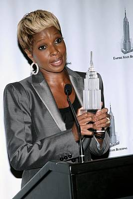 Mary J. Blige In Attendance For Empire Poster by Everett