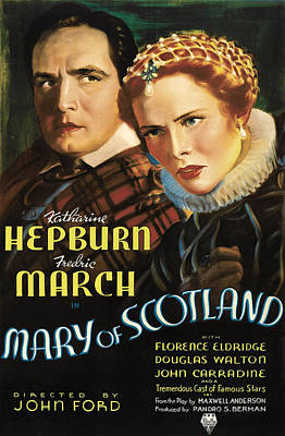 Mary Of Scotland, Fredric March Poster