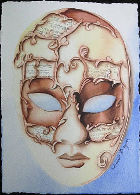 Masquerade Poster by Teresa Beyer