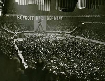 Massive Anti-nazis Demonstration Calls Poster