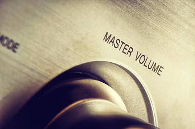 Master Volume - On Poster by Mustafa Otyakmaz