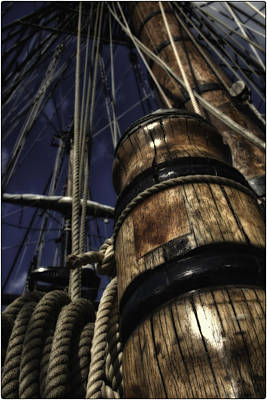 Masts And Ropes Poster