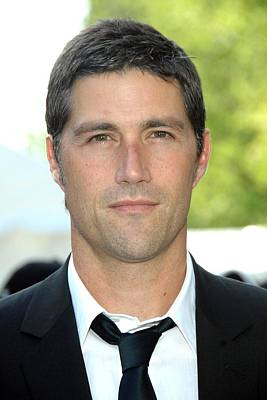Matthew Fox At Arrivals For Abc Network Poster by Everett
