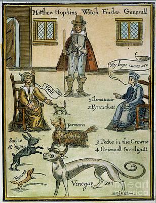 Matthew Hopkins (d. 1647) Poster by Granger