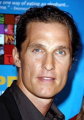 Matthew Mcconaughey At Arrivals For One Poster