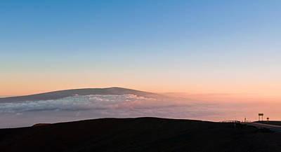 Mauna Loa Sunset Poster