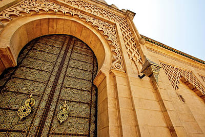 Mausoleum Of Mohammed V Poster by Kelly Cheng Travel Photography