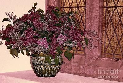Mauve Bouquet Poster