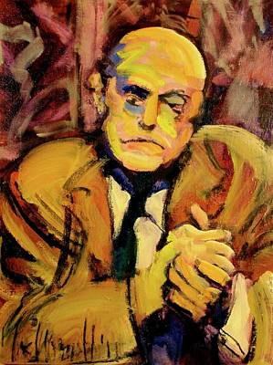 Poster featuring the painting Max Beckman by Les Leffingwell