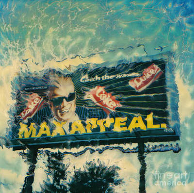 Max Headroom Poster by Corky Willis Atlanta Photography