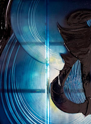 Mayan Royal Blue Poster by Abigail Markov
